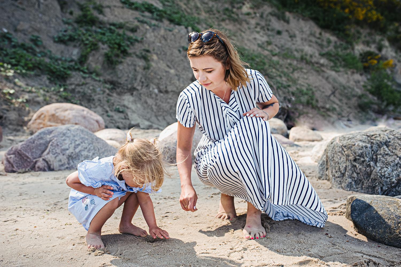 Sesja Mamy i Córeczki na Dzień Matki