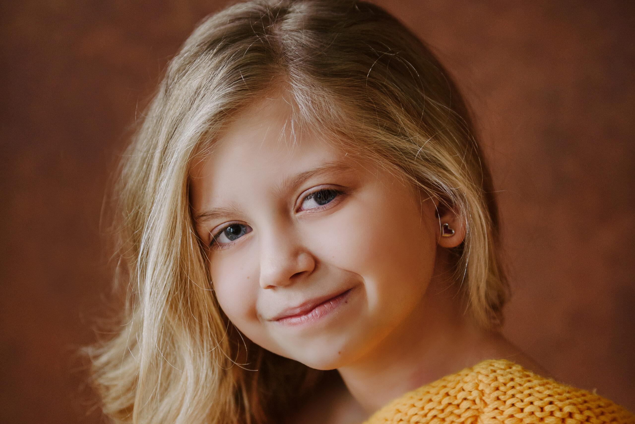 Sesja dziecięca portretowa