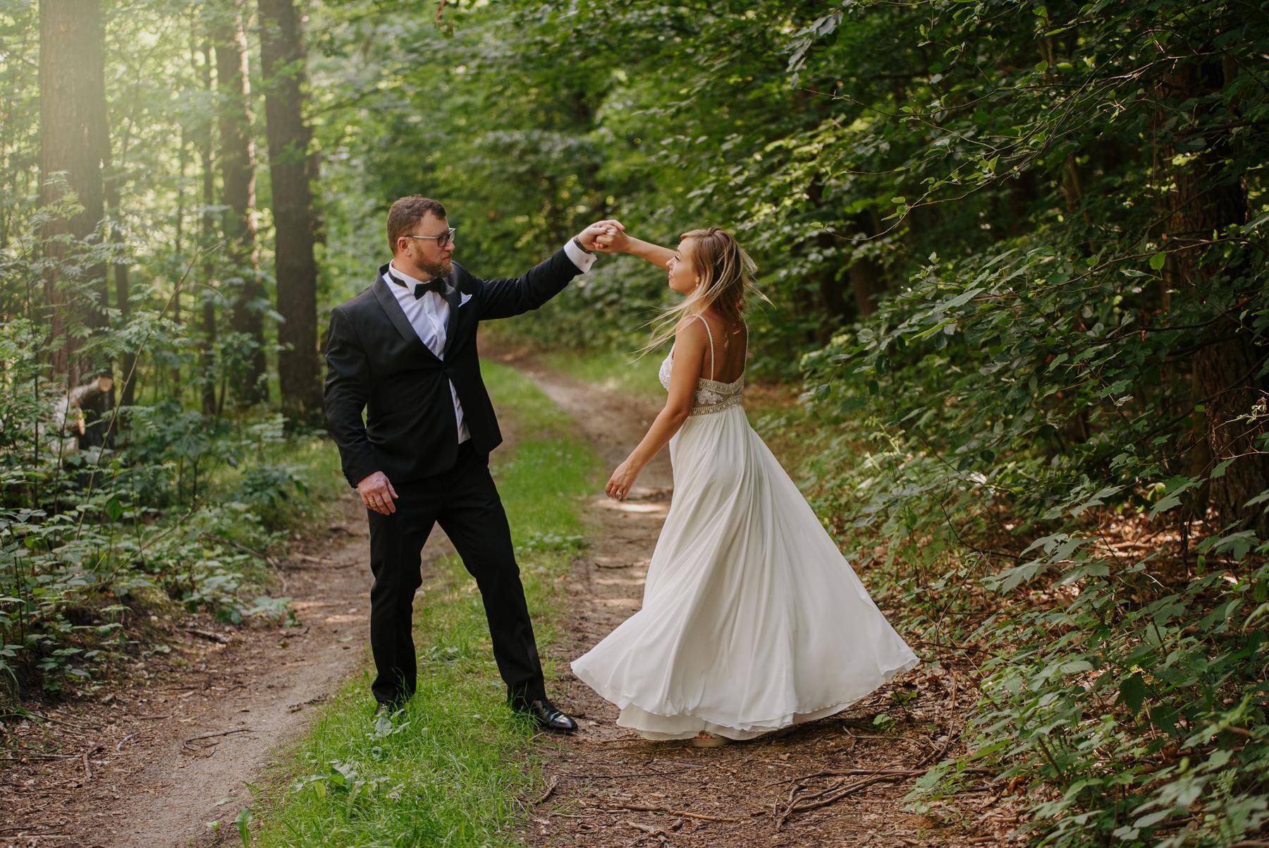 Sesja ślubna w Borach Tucholskich